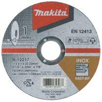 Disc abraziv pentru taiere otel inoxidabil MAKITA B-12267, 180mm