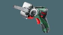 Fierastrau sabie Bosch EasyCut 12 cu acumulator, panze NanoBlade