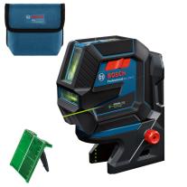 Nivela laser verde cu linii si puncte Bosch GCL 2-50 G, suport RM 10